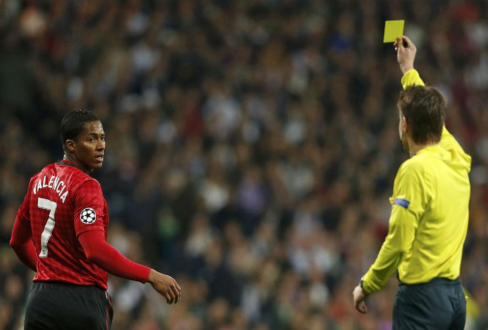 Antonio Valencia participa en el 1-1 de Manchester United y Real Madrid
