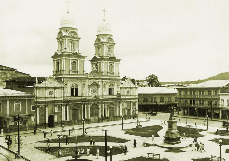 Plaza Rocafuerte (década del 30)
