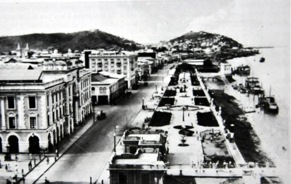 El Malecón de Guayaquil en 1935