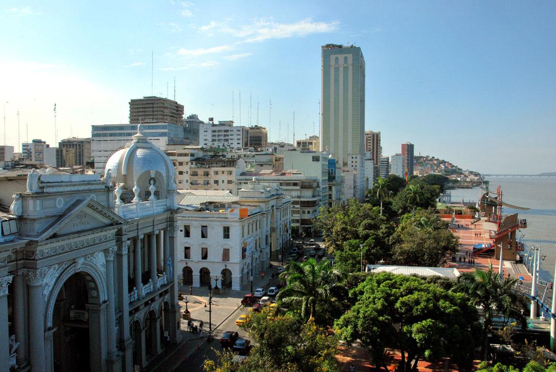 El Malecón de Guayaquil 2012