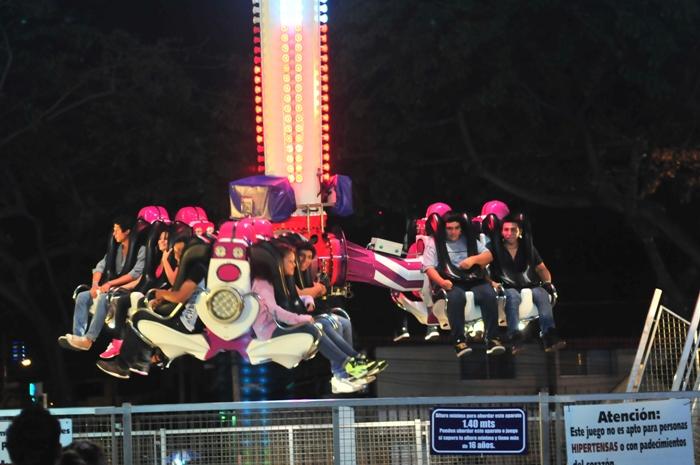 El Play Land Park tiene 37 años viniendo a Guayaquil con juegos llenos de adrenalina no siempre aptos para todos.