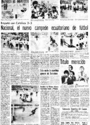 Edición del lunes 4 de febrero de 1974.