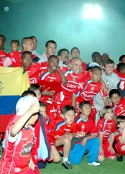 El equipo campeón del 2005. El Nacional fue superior en el torneo clausura.