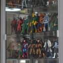 La colección de Marco Vite incluye personajes de las dos empresas de comics más grandes del mundo: Marvel y DC