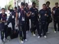 LONDRES.- La delegación de siete boxeadores de Ecuador (Foto: Guido Campaña).