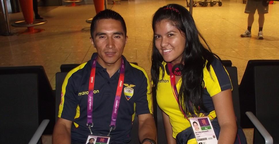 Byron Guamá y Sofía Padilla 20 jul 12 Campaña