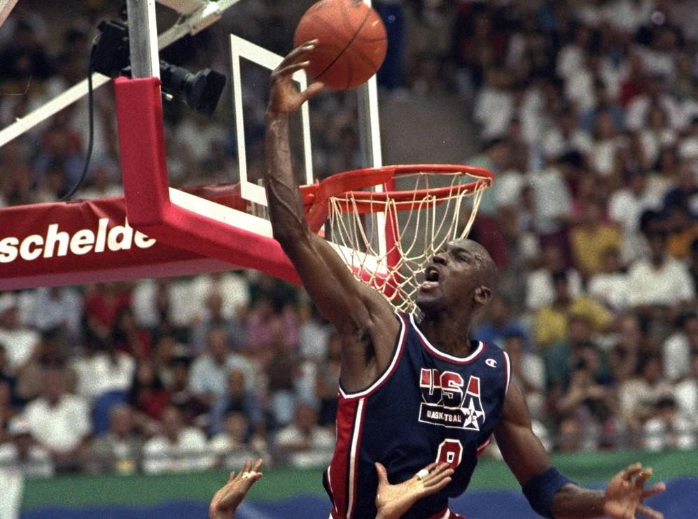 Michael Jordan 27 jul 92 AP