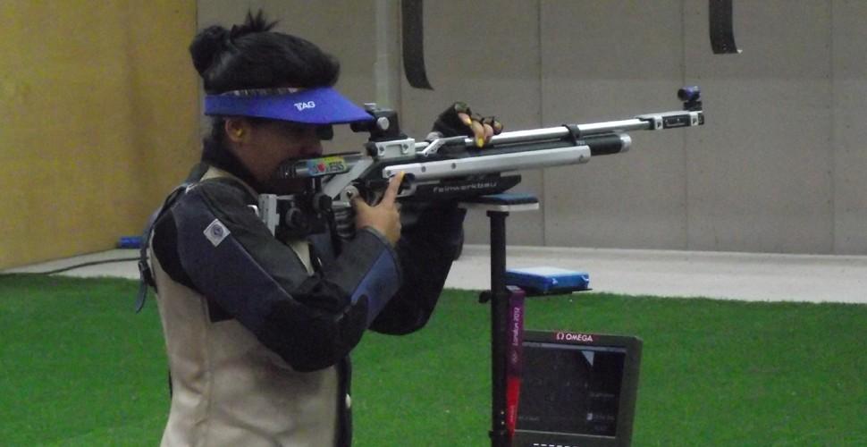 La deportista ecuatoriana Sofia Padilla.