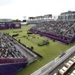 LONDRES. Vista general del estadio Lord's Cricket Ground donde se están celebrando los octavos de final del torneo olímpico de tiro con arco por equipos. Foto: EFE