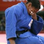 LONDRES. La colombiana Yujri Alvear tras el combate con la francesa Lucie Decosse en la categoría -70 kilos de las eliminatorias del torneo olímpico de judo en el ExCel Arena. Foto: EFE