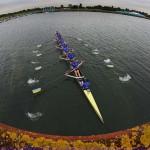 DORNEY. El equipo ucraniano compite en el ocho masculino de remo durante los Juegos Olímpicos de 2012. Foto: EFE
