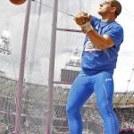 LONDRES. El italiano Lorenzo Povegliano compite en la prueba de lanzamiento de martillo en la competición de Atletismo en los Juegos Olímpicos de Londres 2012. Foto: EFE