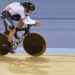 LONDRES. El alemán Roger Kluge, durante la prueba de persecución individual de omnium masculino de la competición de ciclismo en pista en los Juegos Olímpicos de Londres 2012. Foto: EFE