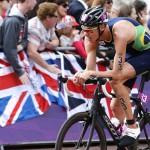 LONDRES. El brasileño Reinaldo Colucci en la prueba de triatlón masculina de los Juegos Olímpicos de Londres 2012. Foto: EFE