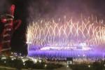 LONDRES. Vista de juegos pirotécnicos en la ceremonia de clausura de los Juegos Olímpicos de Londres 2012. Foto: EFE