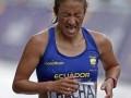 Rosa Chacha se despidió de Londres, luego de competir en la Maratón.