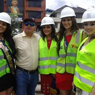 Candidatas al Miss Ecuador en Cuenca