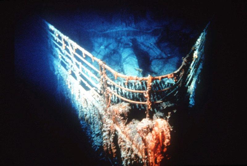 Titanic en el Atlántico