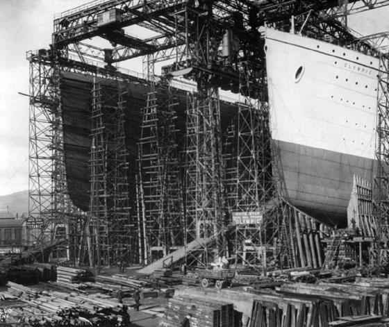Historia titanic el universo - Construccion del titanic ...