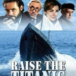 "Póster  del filme ""Raise the Titanic"" de 1980."