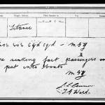 Un telegrama S.O.S. enviado por el radio operador Jack Phillips.