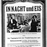 """Póster  del filme """"In Nacht und Eis"""" de 1912."""