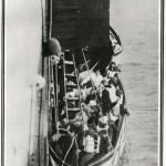 Fotografía tomada a los pasajeros rescatados de los botes salvavidas del Titanic. Foto: © National Maritime Museum