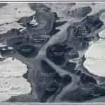 Ilustración del National Maritime Museum sobre la ubicación del Titanic.