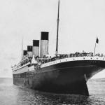 El Titanic en Queenstown el 11 de abril de 1912, antes de partir hacia Nueva York. Foto: © National Maritime Museum
