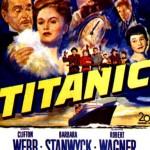 "Póster del filme ""Titanic"" de 1953."