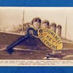 Una llave del legendario Titanic.