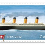 Sello para conmemorar el 100 aniversario de la catástrofe del Titanic.