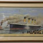 Objetos del RMS Titanic en una subasta.