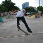 Andrés Chong Qui realiza uno de sus