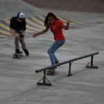 Dayanara García  es la única mujer que tiene patrocinador de skateboarding en Ecuador.