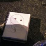 Los Kodamas son espíritus buenos que llaman la atención de Lisette, por eso le gusta dibujarlos.