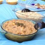 Una manizada de soya y chaulafán vegano también tuvo buena aceptación entre los participantes del picnic.