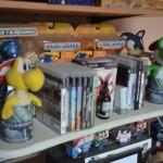 De las diferentes historias de los videojuegos salen a la venta figuras de acción y elementos coleccionables.